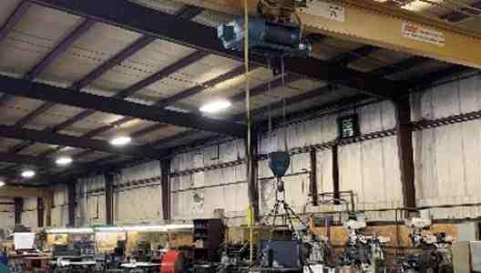 3, 5, and 10-Ton Overhead Cranes